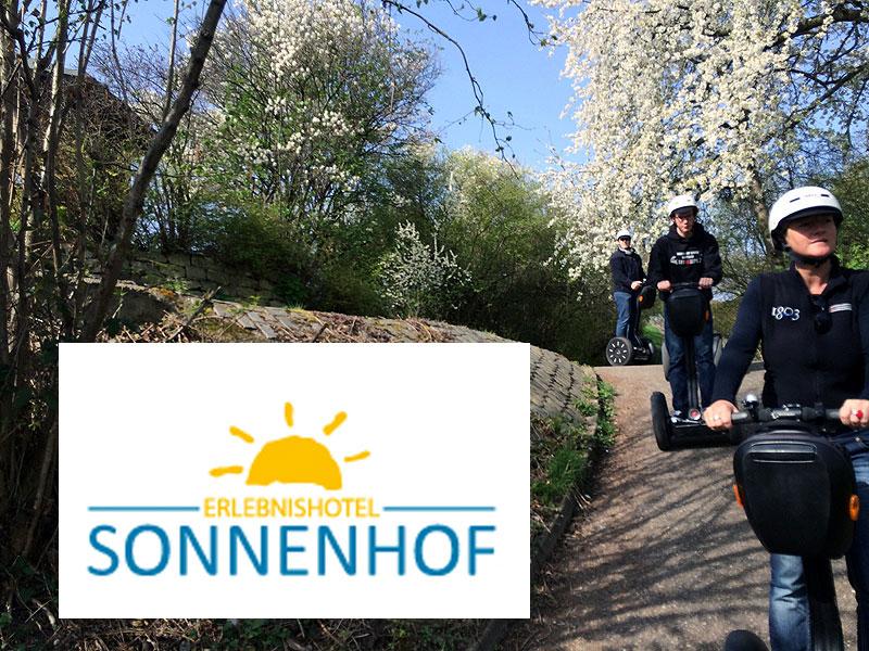 Segwaytouren ab Erlebnishotel Sonnenhof in Aspach
