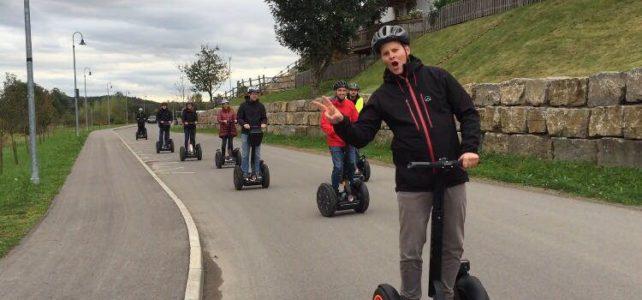 Segway mieten - Team-Event für Daimler in Aspach am Hotel Sonnenhof