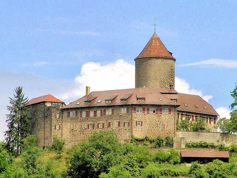 Segwaytour Oppenweiler Burg Reichenberg Zwischenstopp und Führung