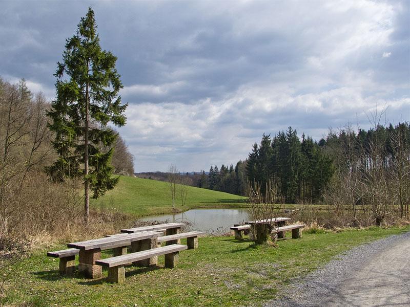 Segwaytour Oppenweiler bei Backnang - hier der Heppsee